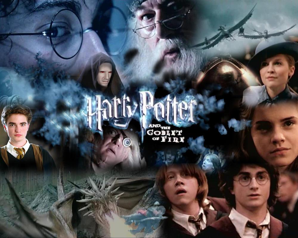 My Harry Potter  GOF  Desktop by rdl