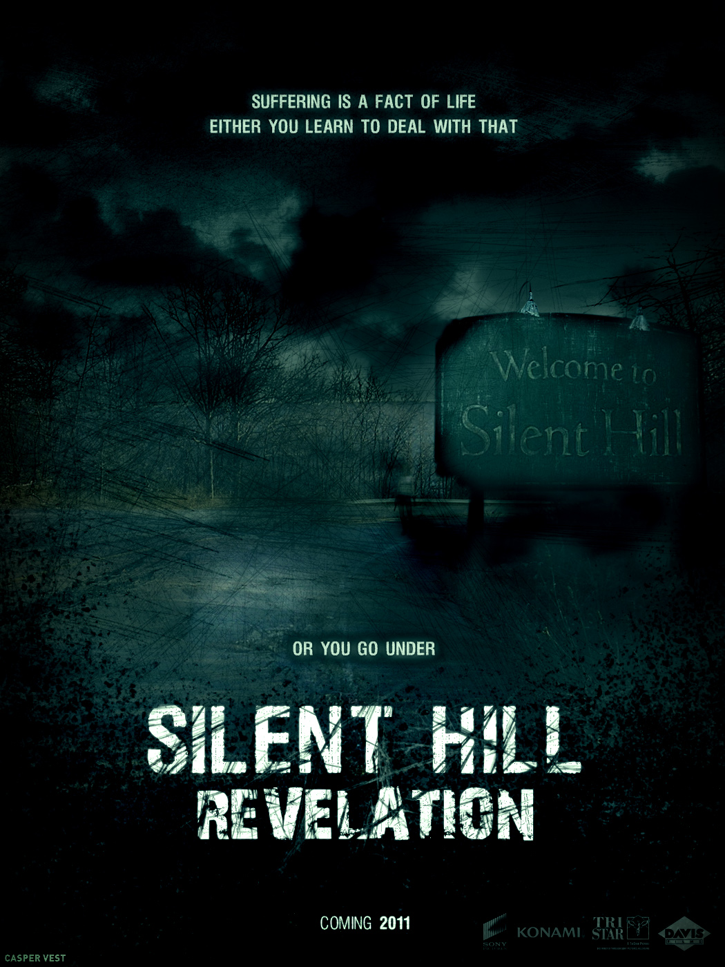 silent hill 2 movie poster