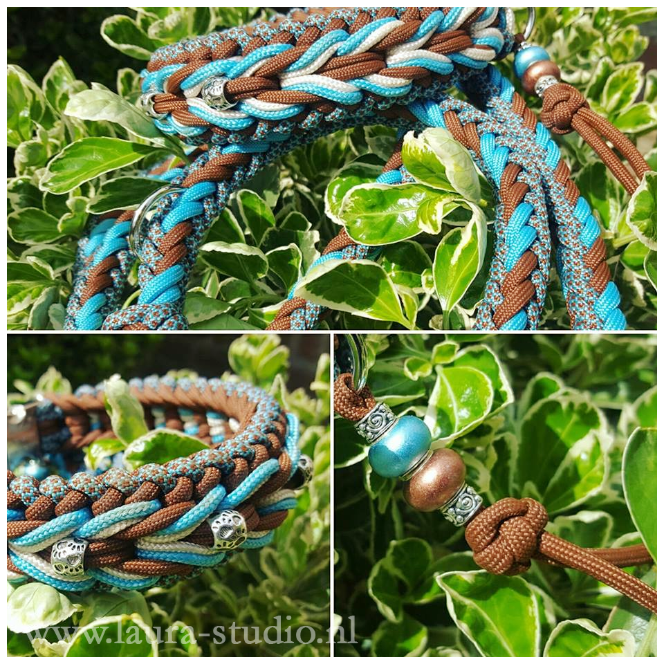 Maylo indian summer paracord collar and leash by noulla on for Paracord wallpaper