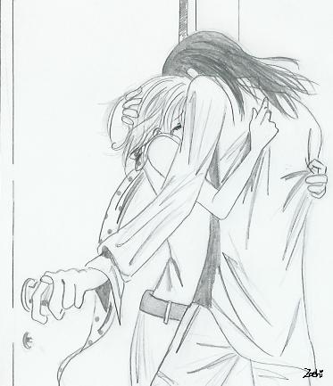nana and takumi by Zoehi