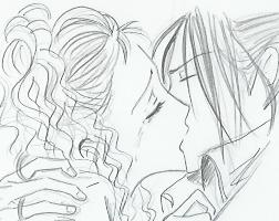 Reira and Takumi kiss by Zoehi