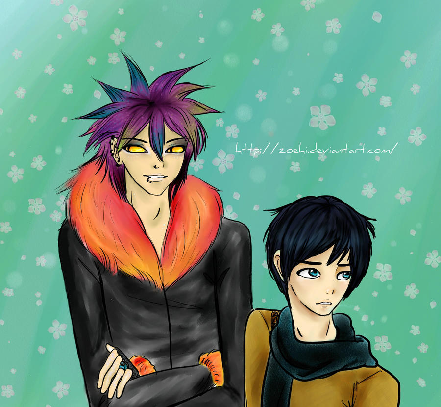 Magnus and Alec by Zoehi