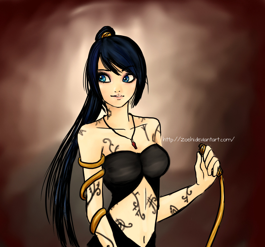 Isabelle Lightwood by Zoehi