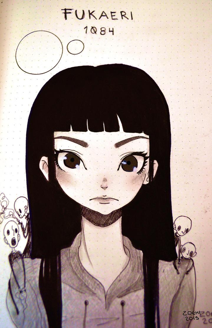 Fukaeri 1Q84 by Zoehi