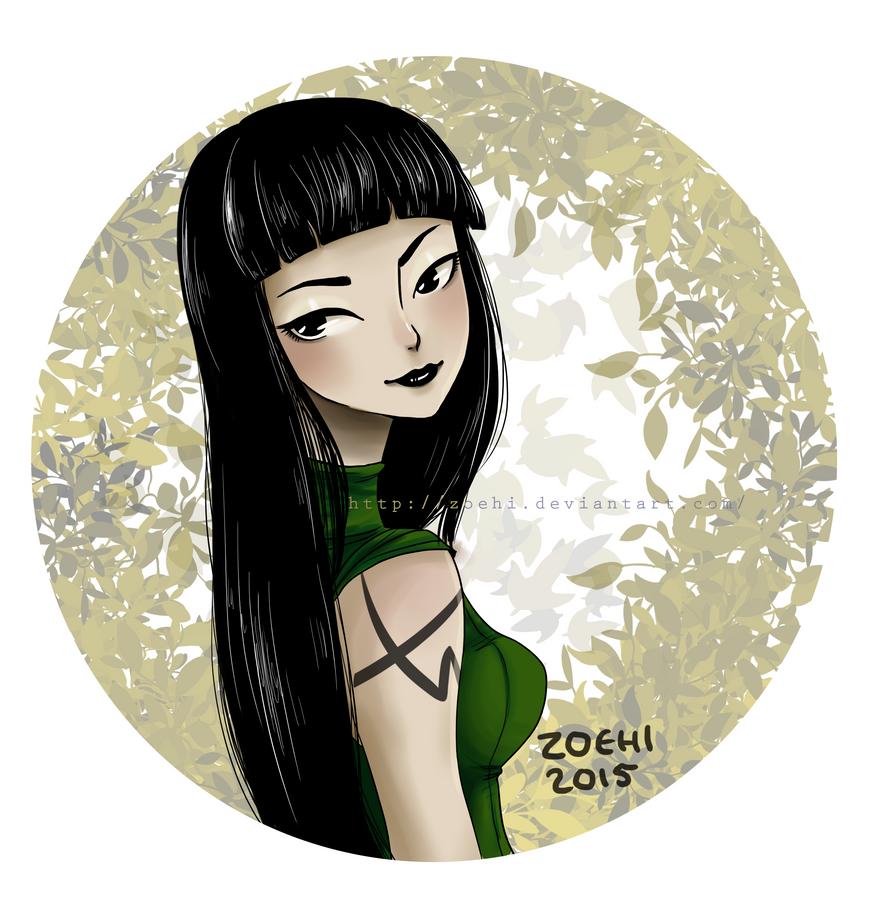 OC Jinn by Zoehi