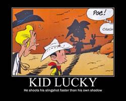 Lucky Luke Kids - Kid Lucky by RedHatMeg