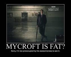 Mycroft Holmes poster by RedHatMeg