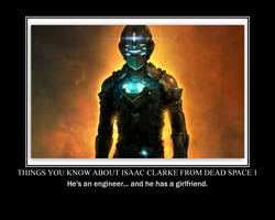 Dead Space poster by RedHatMeg