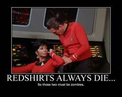 Redshirts always die by RedHatMeg