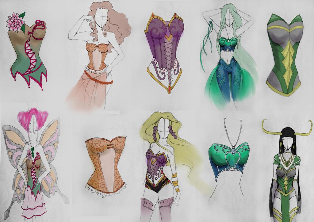 corset design by AntaRF