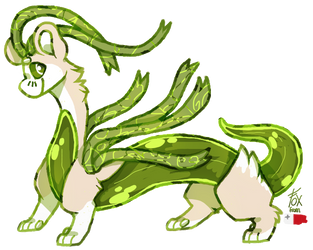 [Payment 4/6] Green Noodle by Fox-From-Malta