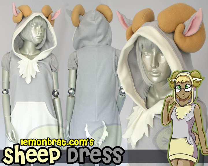 Sheep Dress by lemonbrat