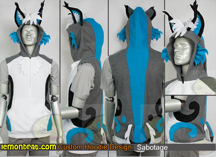 Custom Sabotage Hoodie by lemonbrat