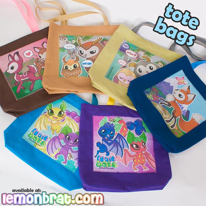 Tote Bags! by lemonbrat