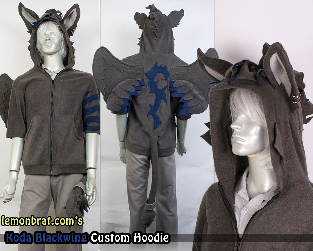 Koda Blackwing Custom Hoodie by lemonbrat
