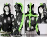Fur Hyena Custom Hoodie