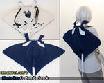 Manta Ray Custom Backpack