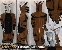 Telephone Custom Kigurumi by lemonbrat