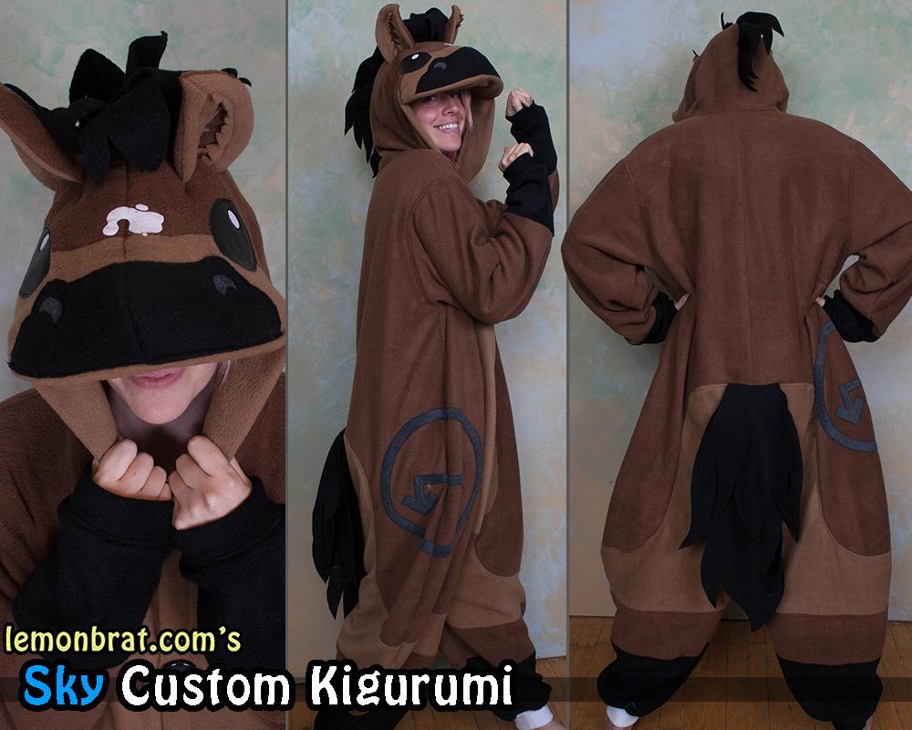 Sky Custom Kigurumi! by lemonbrat