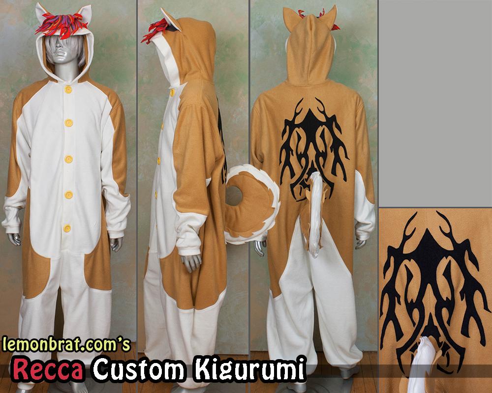 Recca Custom Kigurumi! by lemonbrat