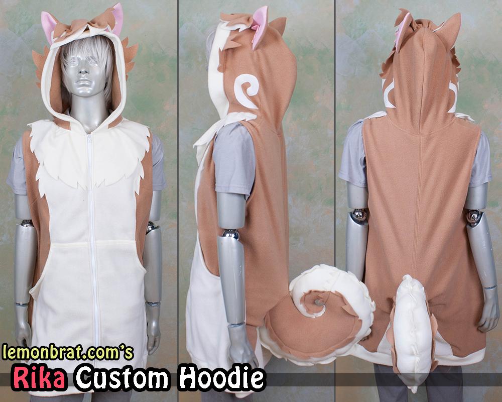 Rika Custom Hoodie! by lemonbrat