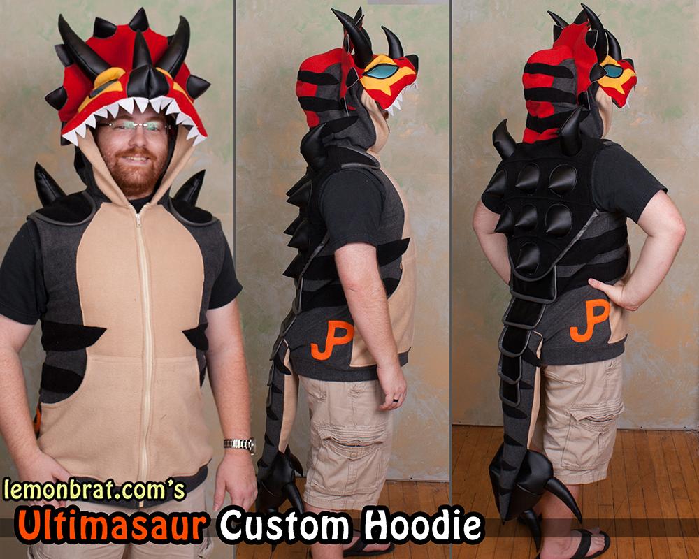 Ultimasaurus Custom Hoodie! by lemonbrat