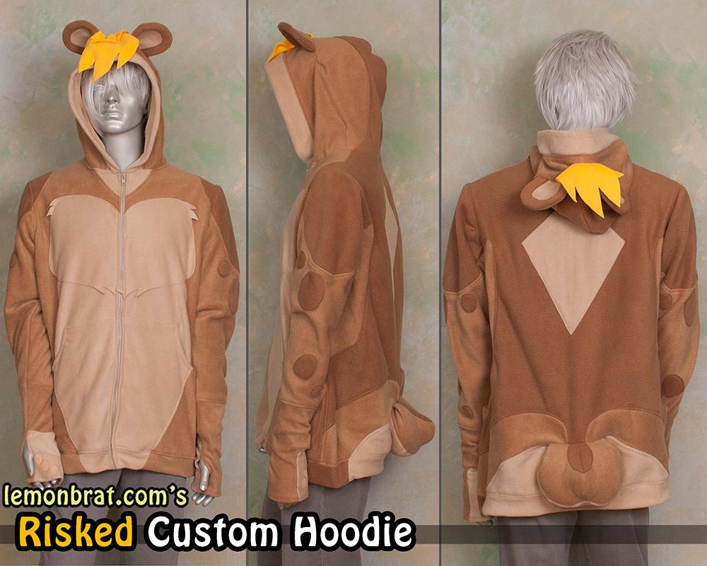 Risked Custom Hoodie! by lemonbrat