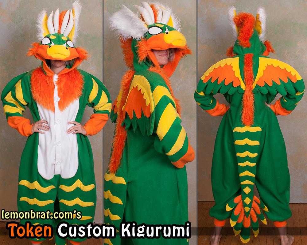 Token Custom Kigurumi! by lemonbrat