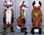 Tzyko Custom Fursuit