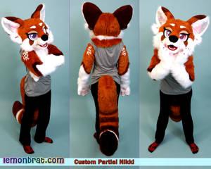 Nikki the Foon Partial Fursuit