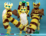 Azura Custom Digitigrade Fursuit