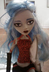 Ghoulia MH re-paint 2 by mikayla-matter