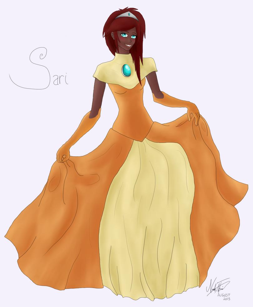 Sari by meowkittycat478