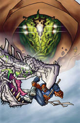 Dragon Spirits Back Cover Colors by HalfLifeComics