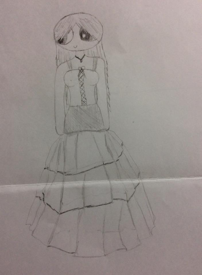 Skylar-In a dress grown up by Echos-in-the-Shadows