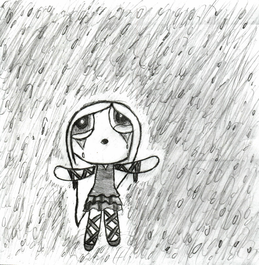 Standing in the Rain by Echos-in-the-Shadows