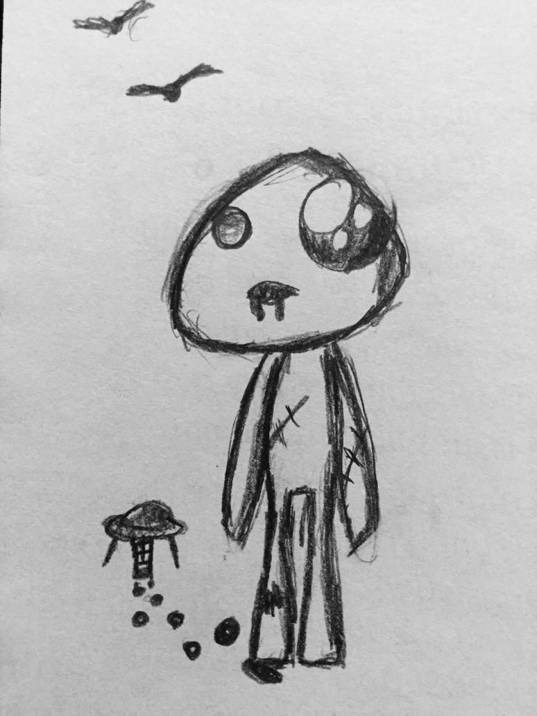 Rag doll Alien by Echos-in-the-Shadows