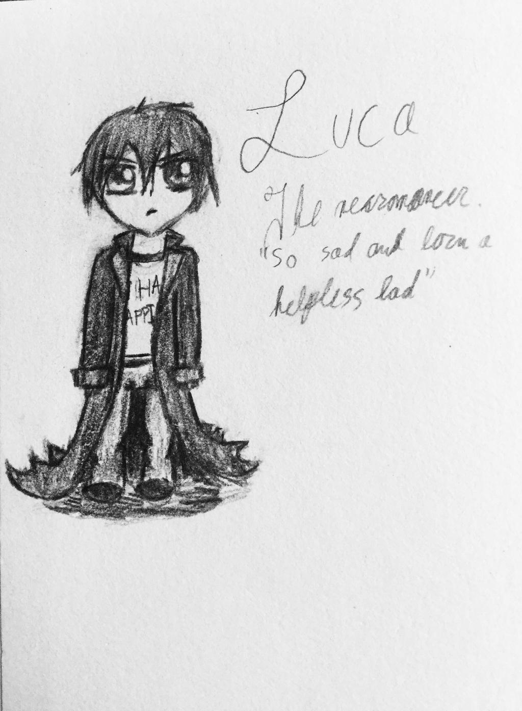Luca Chibi!!!! by Echos-in-the-Shadows