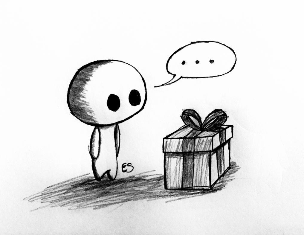 Meep: What is Christmas Gift by Echos-in-the-Shadows