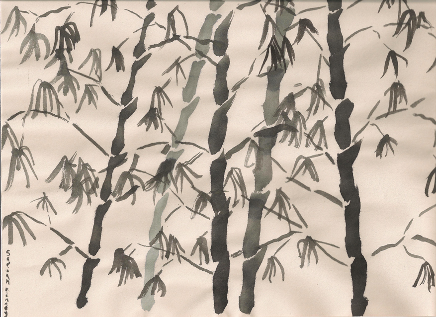 Winter Bamboo by realityhelix