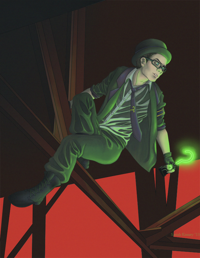 The Riddler is Better Than You by realityhelix