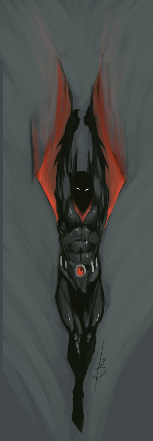 Quick Paint: Terry McGinnis ( Batman Beyond ) by PaintedKing