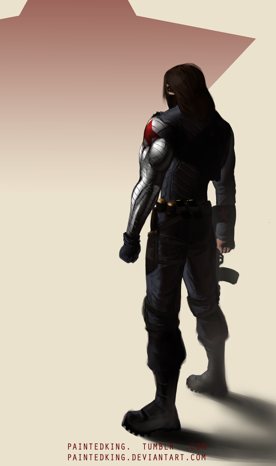 Beautiful Wallpaper Marvel Winter Soldier - bucky_barnes___winter_soldier_by_paintedking-d7igyu8  Best Photo Reference_24348.png