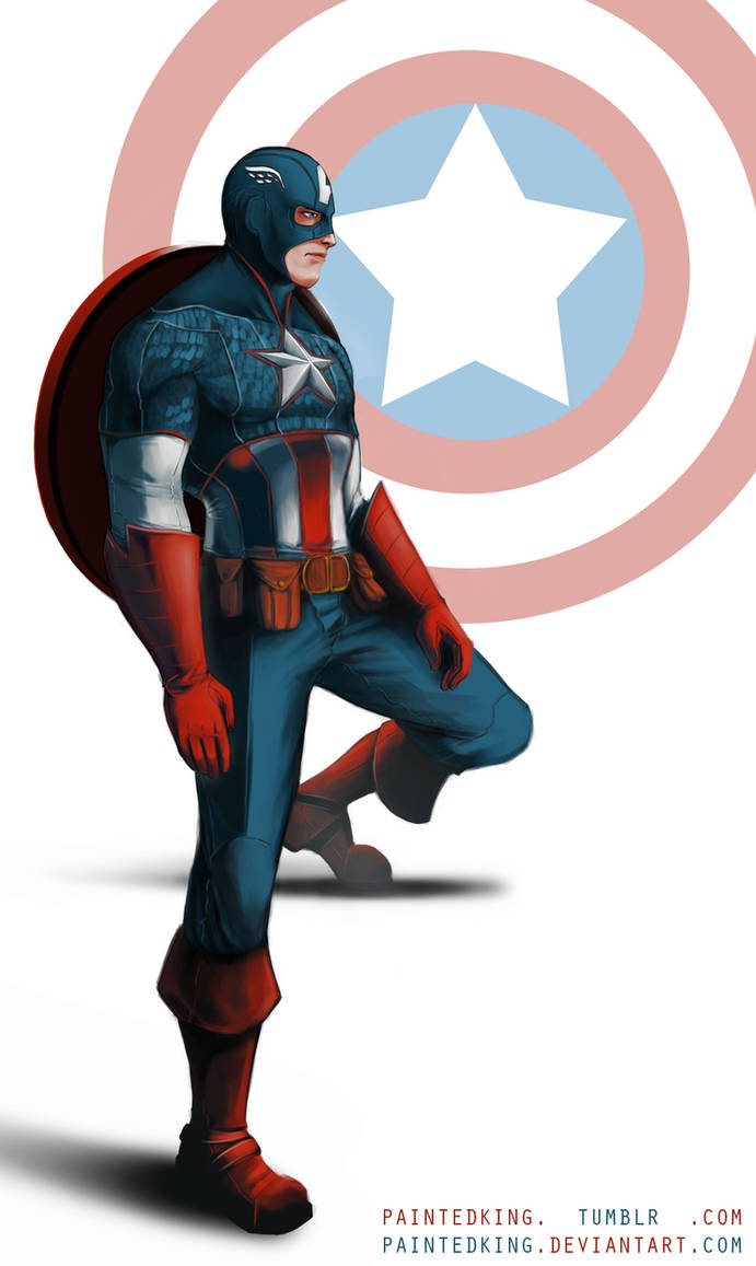 Steve Rogers / Captain America Fan-art by asphillipsart on