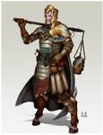 Commission: Lan, Tiefling Paladin of Torm