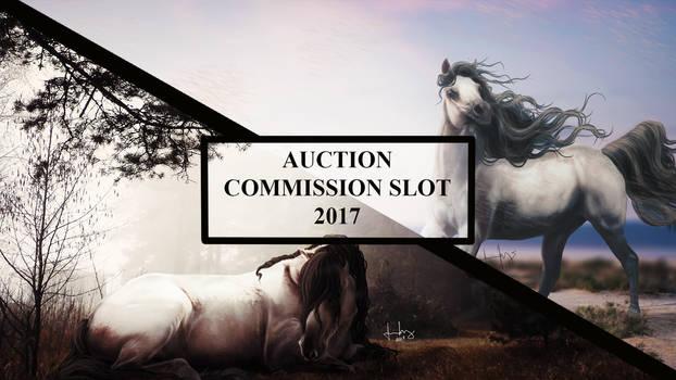 Commission Slot Auction