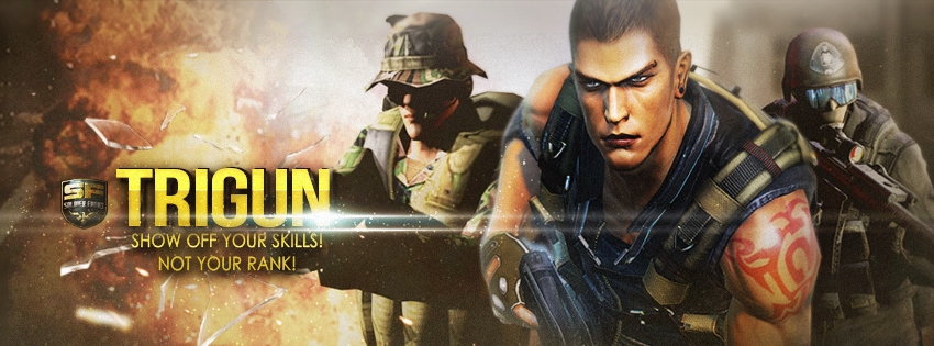 Trigun Soldier Front FB Cover By PhysFX