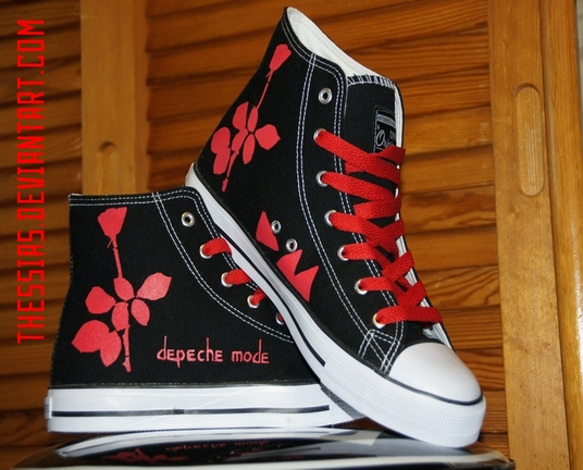 Depeche Mode Shoes