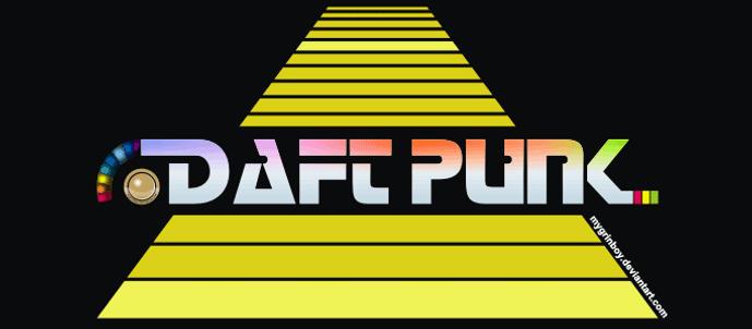 Daft Punk animation by mygrinboy
