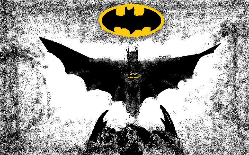 Batman Cover by mygrinboy